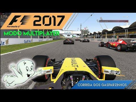 MODO GASPARZINHO - F1 2017 MULTIPLAYER - RENAULT - BAHREIN