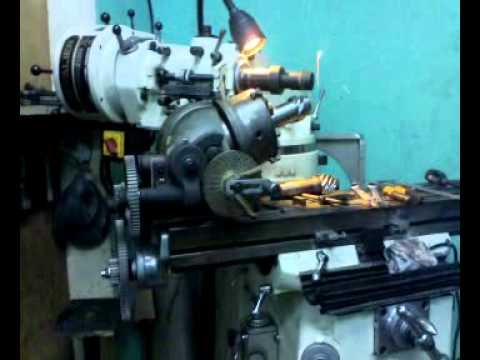 hypoid gear cutting on turret milling machine