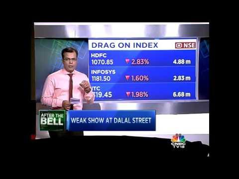 MARKET WRAP: D-St Witnesses Weak Day At Trade, Sensex Tumbles 215 Pts – April 7, 2016
