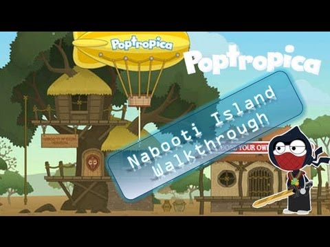 Poptropica Cheats for Nabooti Island Walkthrough by LoudSeal