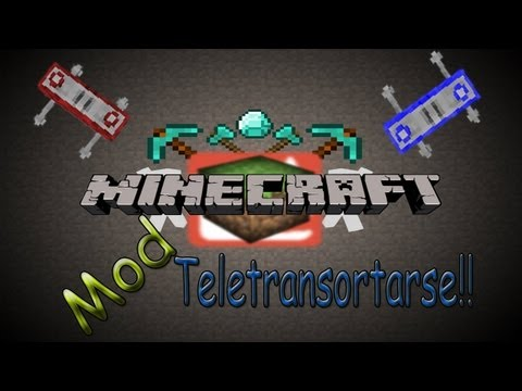 Minecraft MODS - Teletransportador en minecraft - TF2 TELEPORTER