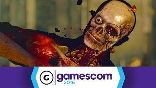 10 Minutes of Sniping in Sniper Elite 4 - Gamescom 2016