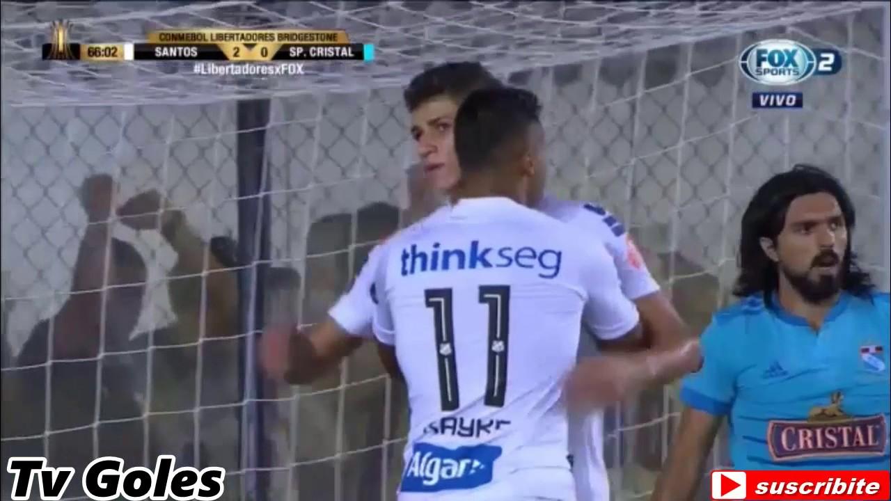 Santos 4-0 Sporting Cristal