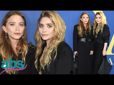 Mary-Kate and Ashley Olsen match in all-black at CFDA Fashion Awards  | ABS US  DAILY NEWS