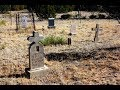 Very scary moment at an old cemetery in the mountains