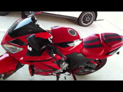 SXR 250 rtc sport bike customized