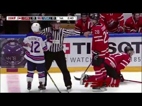 США-Канада 4-2   МЧМ 2016   Обзоры матча