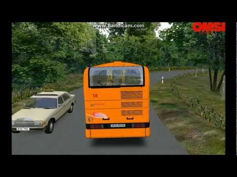 Omsi - Seebrück Ligne 54 - Renault Agora S (mauvaise conduite...)