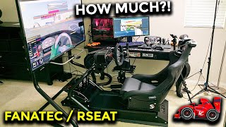 Building my RACING SIMULATOR! (How much $$?)