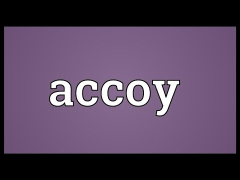 Header of ACCOY