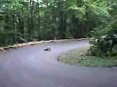 DH skateboard Mt Ascutney 2007