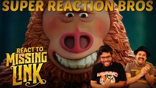 SRB Reacts to Missing Link Official Trailer 2