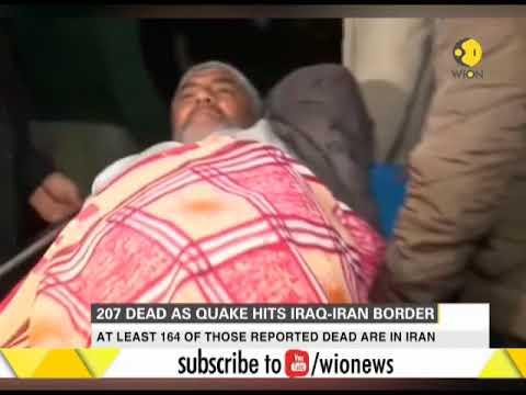 At least 207 dead in Iran-Iraq border earthquake