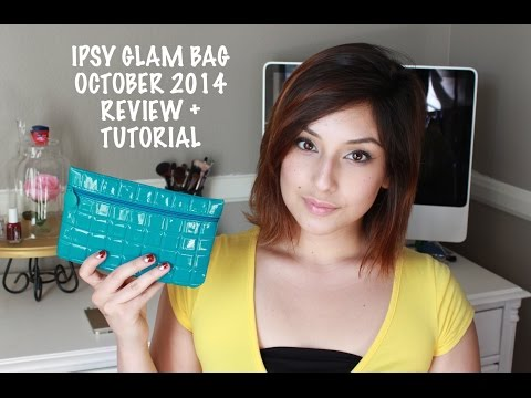 IPSY GLAM BAG October 2014: Review + Tutorial