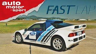 Ford RS 200: Die ultimative Fahrmaschine aus den 80ern - Fast Lap | auto motor und sport