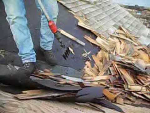Powered Roof Shingle Removal Tool Tears Off The Toughest