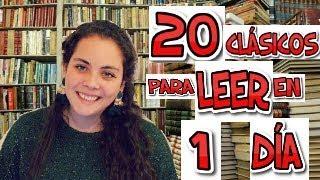 20 Libros Clásicos Cortos Para Leer Rápido (En un día)