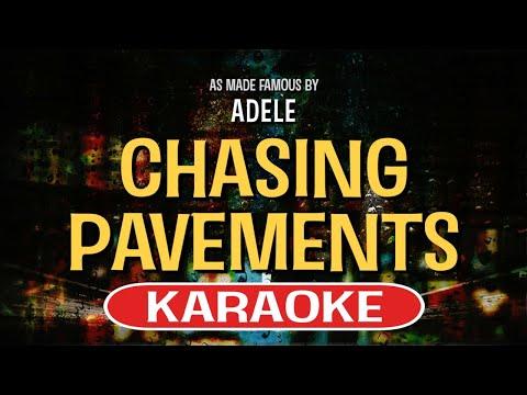 Chasing Pavements - Adele | Karaoke Version