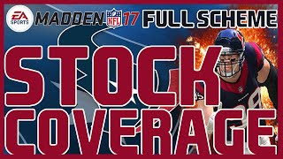 Madden 17: Nickel 2-4-5 - Cover 6/Cover 9 Stock Defense. FULL/FREE Nickel 2-4-5 SCHEME !