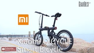 Xiaomi QiCYCLE Smart Bicycle - Gearbest.com