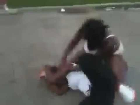 crazy hood fight