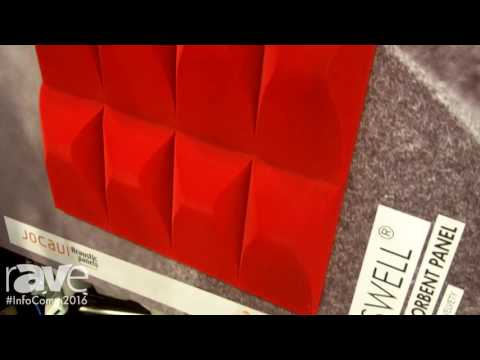 InfoComm 2016: Jocavi Introduces Its Absorbent Acoustic Panels