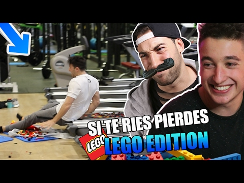 LOS PEORES CHISTES DEL MUNDO!! LEGO EDITION si te RIES PIERDES [bytarifa]