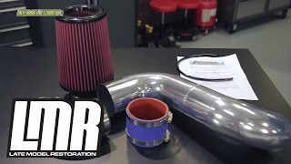 "Mustang Anderson Power Pipe Install - AFM 3.5"" Fox Body Intake"