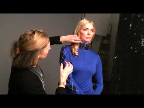 Green Lamb Golf: Behind the scenes with Jodie Kidd: Winter 2015