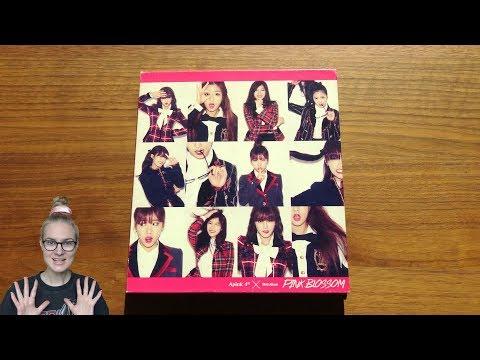 Unboxing Apink 에이핑크 4th Korean Mini Album Pink Blossom