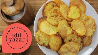 Fırında Patates Cipsi Nasıl Yapılır? - İdil Tatari