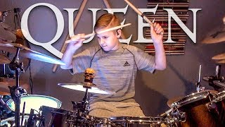 Download Lagu BOHEMIAN RHAPSODY - QUEEN (age 11) Cover by Avery Drummer Gratis STAFABAND