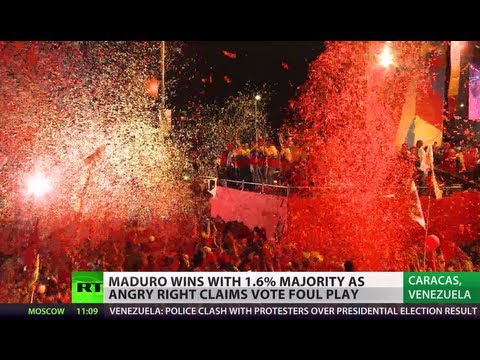Venezuela declares Maduro president-elect amid violent protests