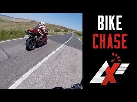 CHASE Ducati 1098 vs Ducati Monster 620