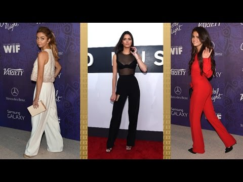 Selena Gomez, Emma Stone & Sarah Hyland Show Us How to Wear Fall's Newest Trends in Pants thumbnail