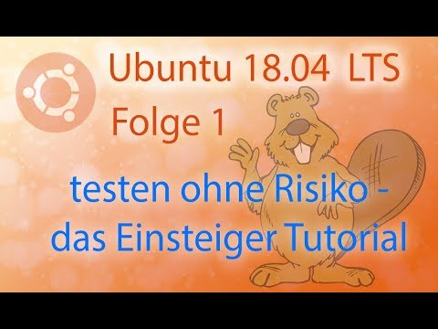 Tutorial ✪ Ubuntu 18.04 LTS parallel zu Windows 10 installieren ✪ HD   German   Deutsch