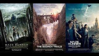 The Maze Runner trilogy - Trailer Compilation