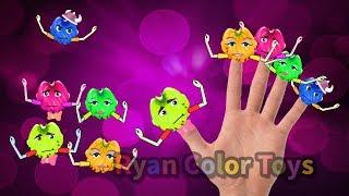 Finger Family Nursery rhymes Song Banana Finger   daddy finger children songs Chansons pour
