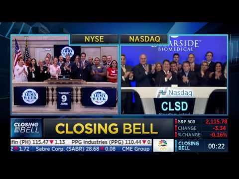 Army Week Association ringing the closing bell at NYSE