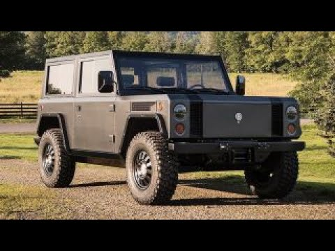 Bollinger B-1 is an old-school truck with a high-tech twist