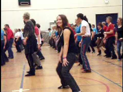 Human Line Dance Human Dancer Line Dance