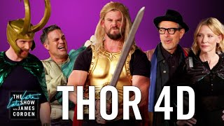 Download Lagu Thor: Ragnarok 4D w/ the 'Thor' Cast Gratis STAFABAND