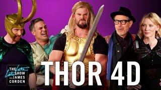 Thor: Ragnarok 4D w/ the