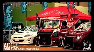 ACCtv エアサス CARSHOW SERIES FIND RICH CARSHOW 2014 KANSAI JAPAN