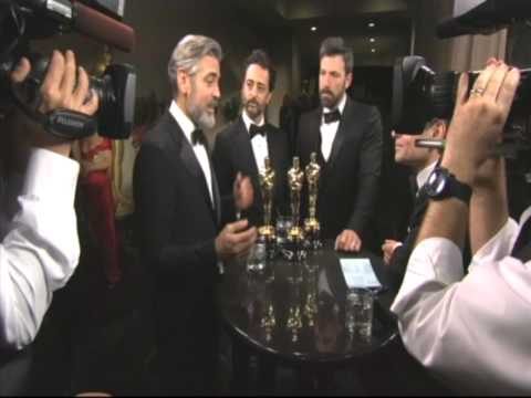 ARGO: Ben Affleck, George Clooney interviewed by George Stephanopoulos (Unedited)