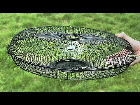 How to make a fish trap from Electric Fan Guard