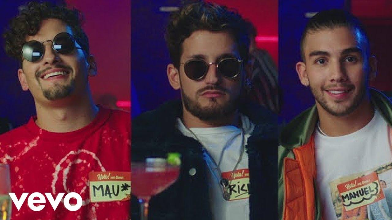 Mau y Ricky, Manuel Turizo, Camilo - Desconocidos (Official Video)