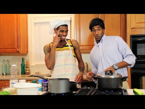 Cooking With A Jamaican - @Dormtainment