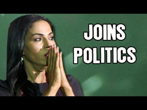 Watch Veena Malik wants to join POLITICS!