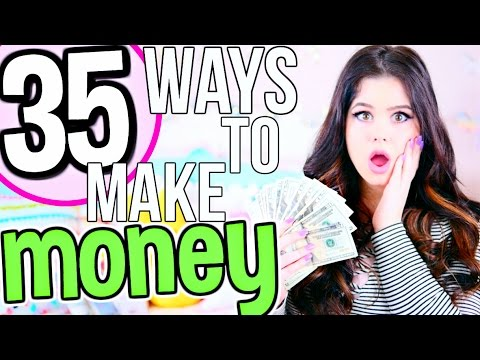 35 FAST + EASY Ways to Make Money! How To Make Money FAST as a Teenager. Kid & Adult!